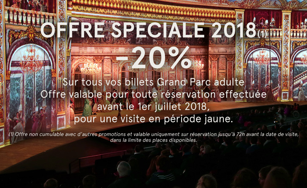 OFFRE SPECIALE 2018